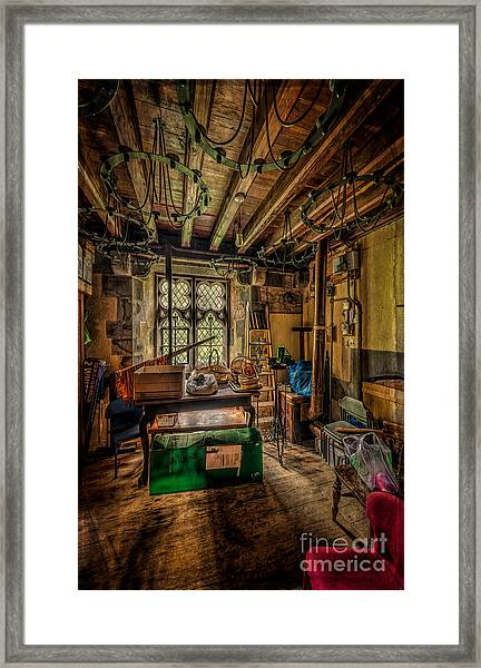 Junk Room Framed Print