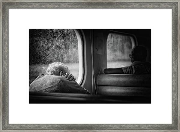 Just A Little Bit Tired Framed Print