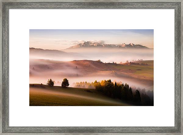 Just A Silence Framed Print by