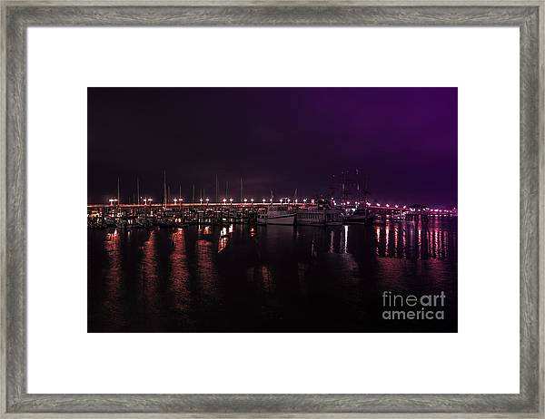 Just Before Sunrise Framed Print