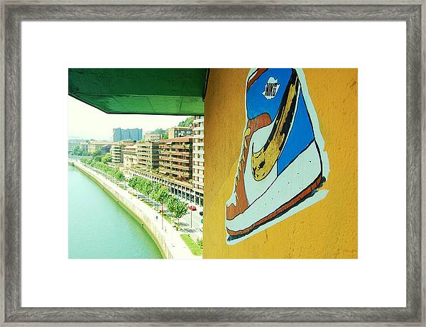 Framed Print featuring the photograph Just Do It by HweeYen Ong