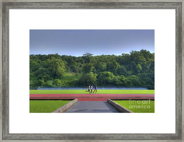 Just The Three Of Us... Framed Print