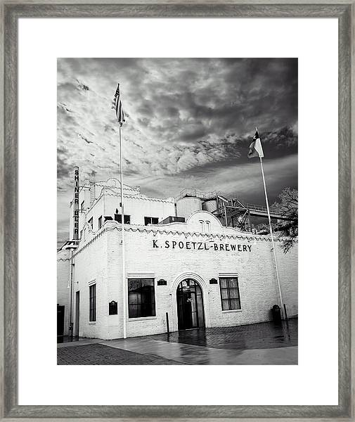 K. Spoetzl Brewery Framed Print