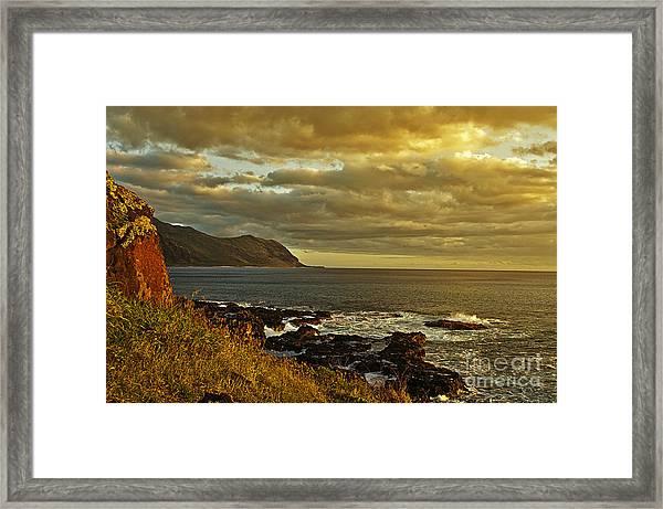 Ka'ena Point Hawaii Framed Print