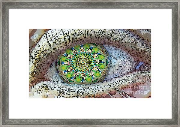Kaleidoscopeeyeq Framed Print