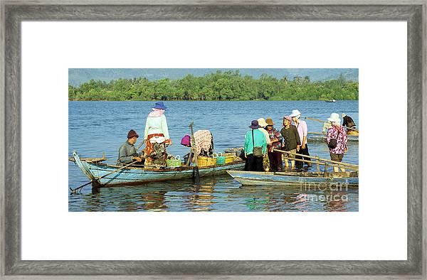 Kampot River Framed Print