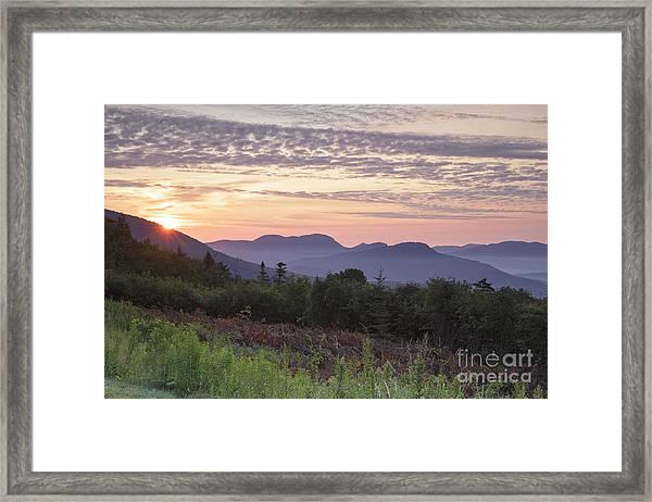 Kancamagus Highway - White Mountains New Hampshire Usa Framed Print