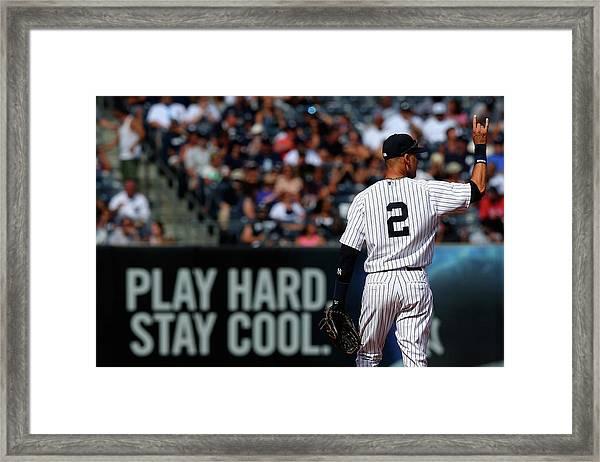 Kansas City Royals V New York Yankees Framed Print