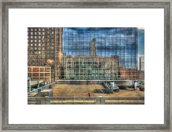 Kansas City Windows Framed Print