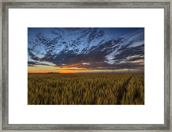 Kansas Color Framed Print