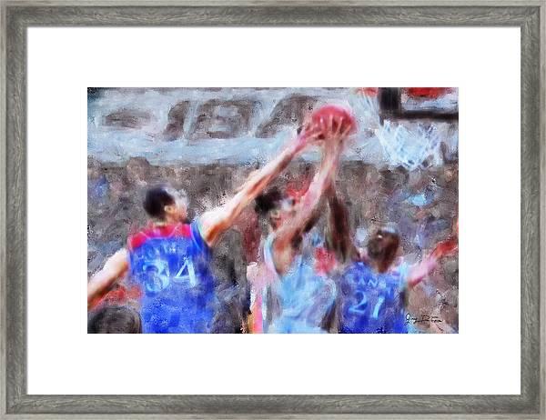 Kansas V Oklahoma08 Framed Print