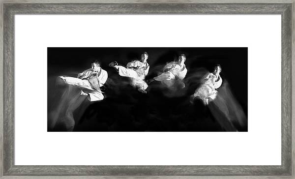 Karate #1 Framed Print