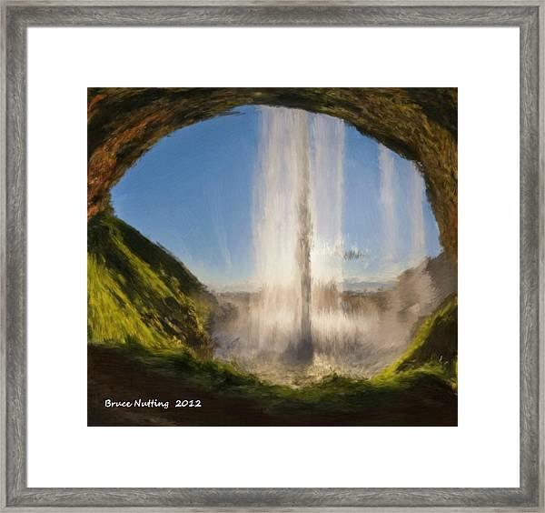 Karen's Waterfalls Framed Print