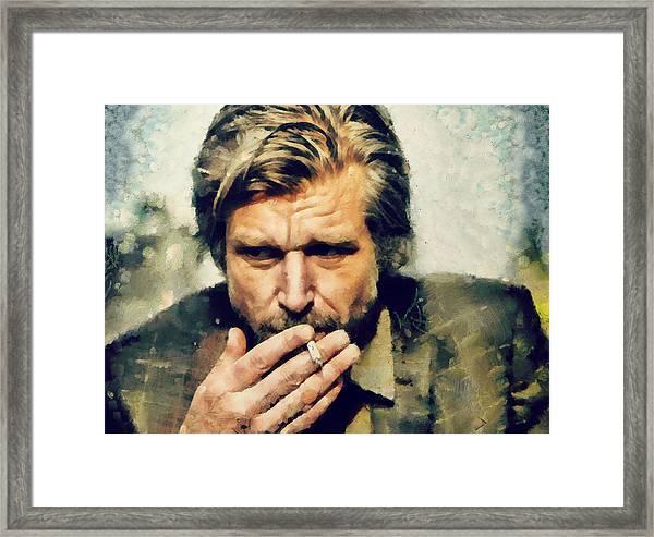 Karl Ove Knausgaard  Framed Print