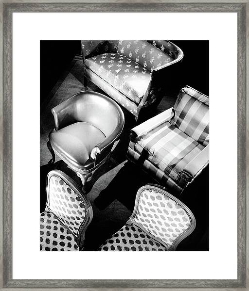 Karpen Chairs Framed Print