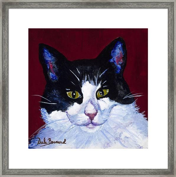 Kat Framed Print