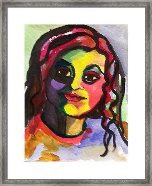 Katrina Framed Print