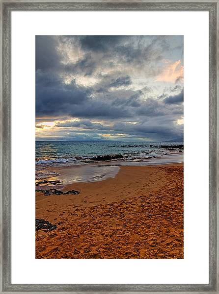 Keawakapu Beach Framed Print