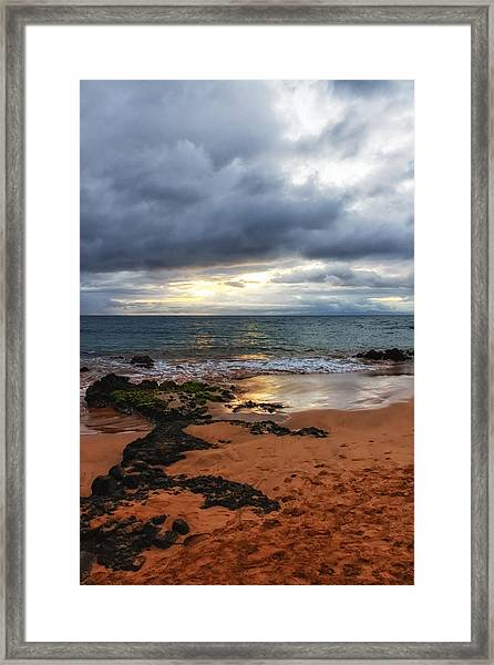 Keawakapu Sunset Framed Print