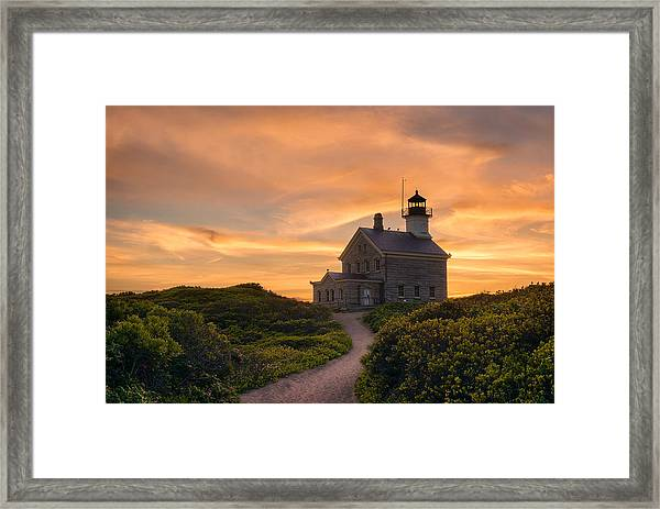 Keeper On The Hill Framed Print