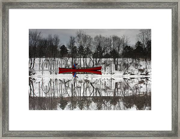 Kennebec Reflection Framed Print