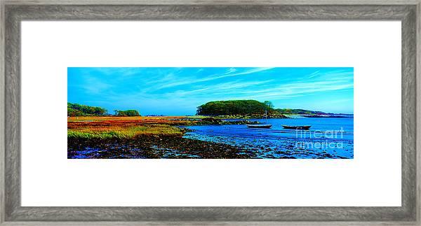 Kennebunkport  Vaughn Island  Framed Print
