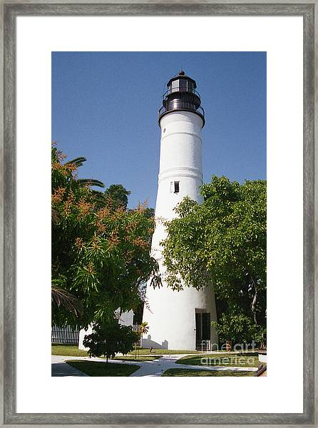 Key West Lighthouse Framed Print