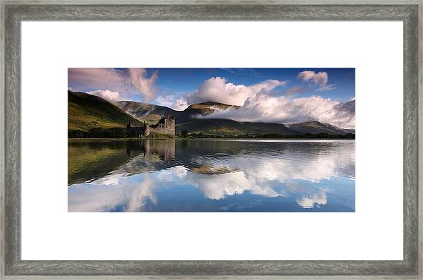 Kilchurn Castle Framed Print by Guido Tramontano Guerritore