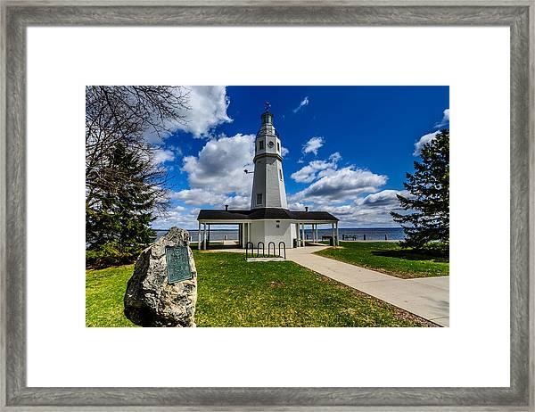 Kimberly Point Lighthouse Framed Print