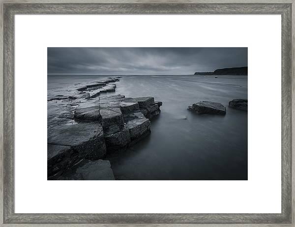 Kimmeridge Gray Framed Print