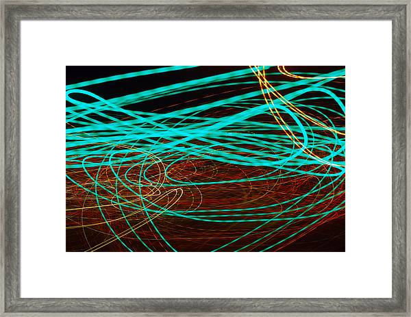 Kinetic Framed Print