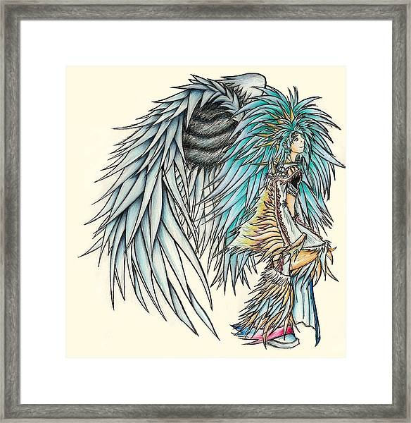 King Crai'riain Framed Print