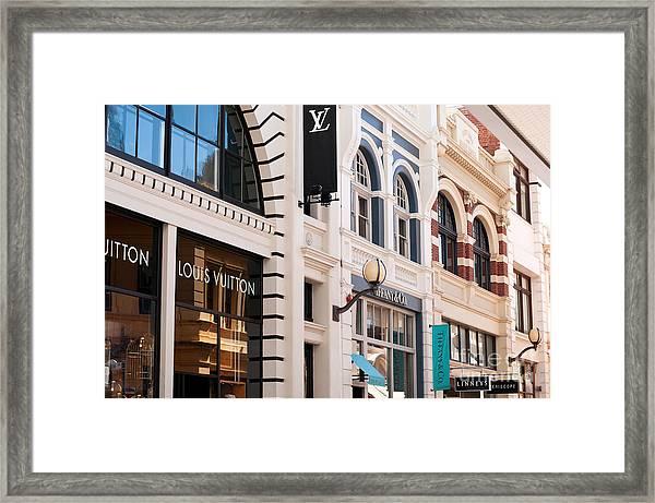 King Street 01 Framed Print