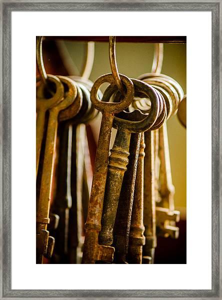 Kingdom Keys Framed Print