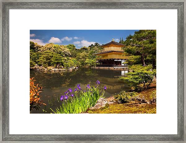 Kinkaku-ji Framed Print