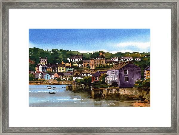 Kinsale Harbour West Cork Framed Print