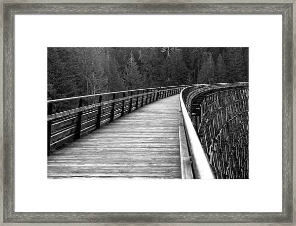Kinsol Trestle Boardwalk  Framed Print