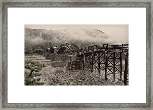 Kintai Bridge - Japan Framed Print
