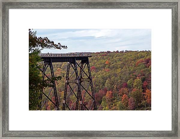 Kinzua Bridge Framed Print