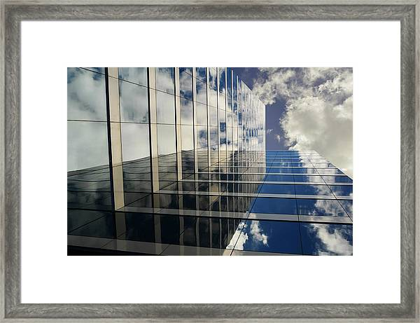 Kiss The Sky Framed Print