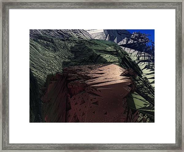 Kissing Carrion Framed Print