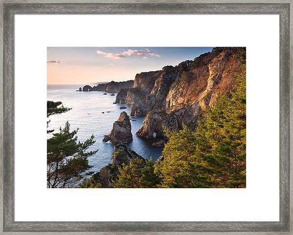 Kitayamazaki Dawn Framed Print