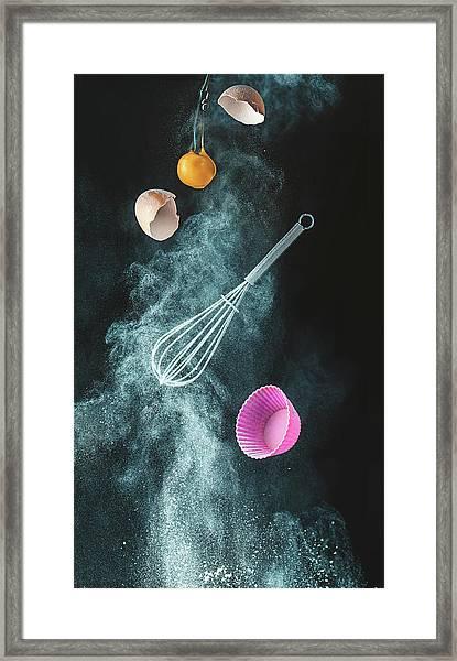 Kitchen Mess Framed Print by Dina Belenko
