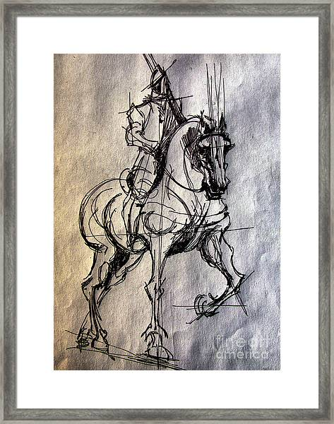 Knight Framed Print