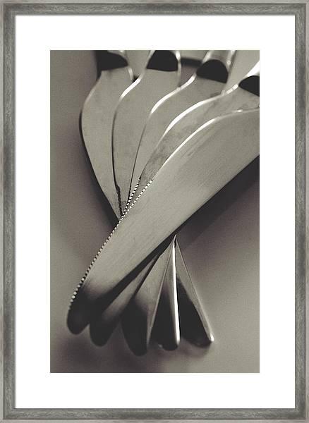 Knives Framed Print