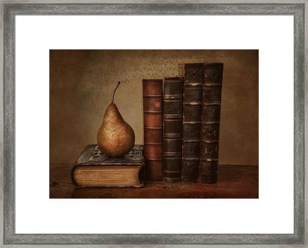 Knowledge Framed Print