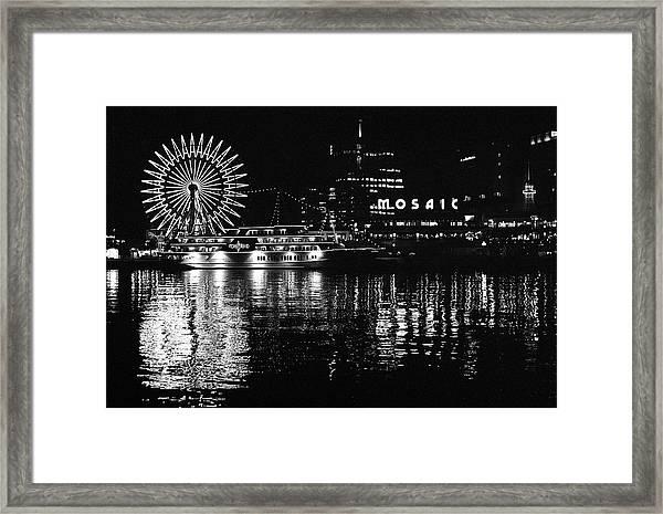 Kobe Harbor Skyline Framed Print