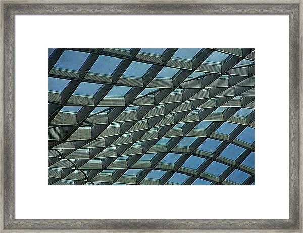 Kogod Courtyard Ceiling #6 Framed Print