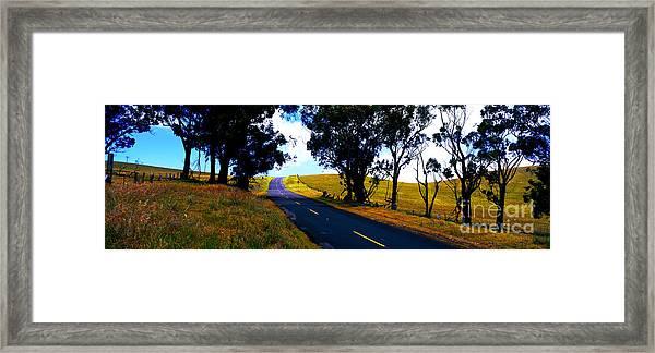 Kohala Mountain Road  Big Island Hawaii  Framed Print