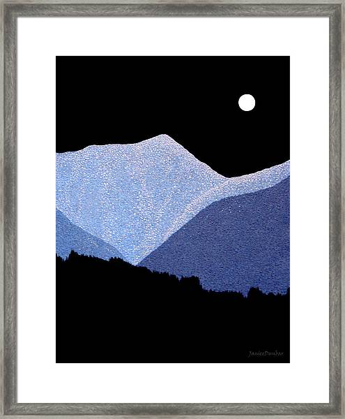 Kootenay Mountains Framed Print